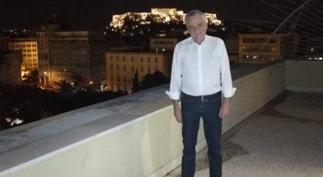 Φωτογραφία με θέα την Ακρόπολη λίγο πριν την αποχώρηση