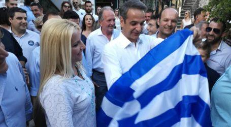 Τη Μακρινίτσα επισκέφθηκε ο Κυριάκος Μητσοτάκης με τη σύζυγό του Μαρέβα [εικόνες]