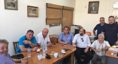 Χρ. Τριαντόπουλος: Επίσκεψη στον Κυνηγητικό Σύλλογο Βόλου