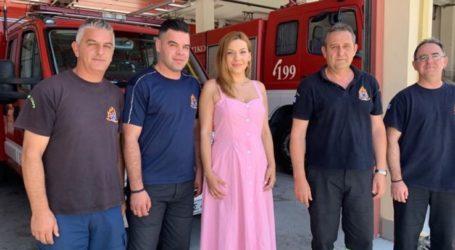 Στέλλα Μπίζιου: Η ατομική μας ευθύνη σύμμαχος των Πυροσβεστών