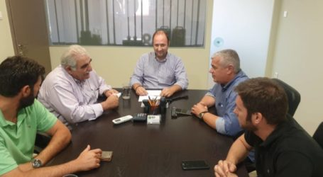 Διαδοχικές επισκέψεις Παπαδόπουλου σε 8η ΕΜΑΚ, Δασαρχείο και συνεταιρισμό ΘΕΣγη