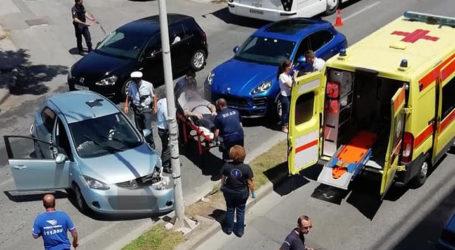 Τροχαίο ατύχημα με τραυματία στον Βόλο [εικόνες]