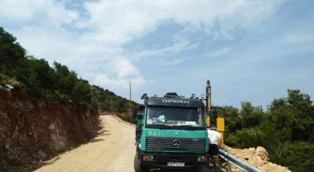 Αλόννησος: Ανακατασκευάζεται ο δρόμος προς Γέρακα