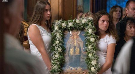 Γιορτάστηκε η Αγία Μαρίνα στην Άφησσο Πηλίου [18 εικόνες]