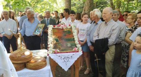 Στην Κρανέα Τεμπών ο Γιώργος Μανώλης ανήμερα της εορτής του Προφήτη Ηλία