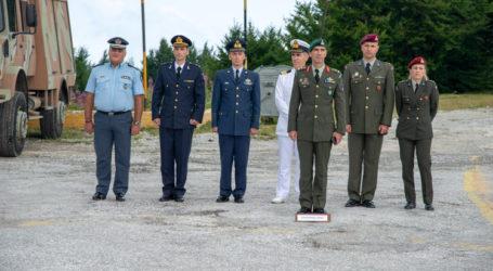 Αλλαγή φρουράς στην 2η ΜΣΕΠ στα Χάνια Πηλίου [εικόνες]