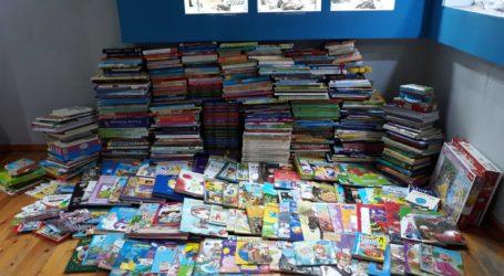 665 παιδικά βιβλία από το Μουσείο Φυσικής Ιστορίας για το Νοσοκομείο Βόλου
