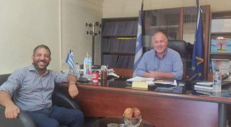 Με τον Αλέξανδρο Μεϊκόπουλο συναντήθηκε ο Δήμαρχος Ρήγα Φεραίου