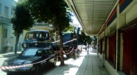 Κυκλοφοριακό «μπλακ άουτ» στο κέντρο του Βόλου [εικόνες]