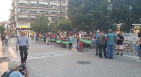 ΤΩΡΑ: Συγκέντρωση πολιτών στον Άγιο Νικόλαο κατά της καύσης RDF [εικόνες]