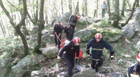 Επιχείρηση διάσωσης δύο τουριστών στο Πήλιο
