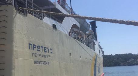 Δεμένα για 24 ώρες τα πλοία σήμερα στο λιμάνι του Βόλου