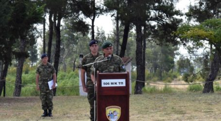 Σε τελετή της ΕΛΔΥΚΟ στο Πολύκαστρο παρέστη ο Διοικητής της 1ης Στρατιάς