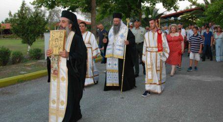 Στον εορτασμό του Αγίου Προκοπίου στον Πλαταμώνα ο διοικητής της 1ης Στρατιάς (φωτό)