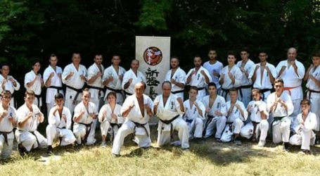Summer Day Shinkyokushinkai 2019 στους καταρράκτες του Κιλκίς με αθλητές από τον Βόλο