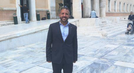 Αλ. Μεϊκόπουλος: Θα προσπαθήσω να έχω κοινό βηματισμό με τους άλλους βουλευτές Μαγνησίας