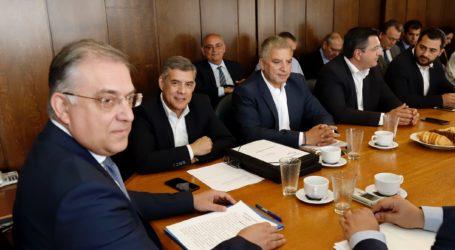 Με τον Υπουργό Εσωτερικών συναντήθηκε ο Κώστας Αγοραστός