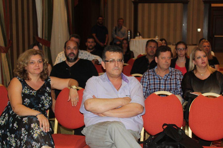 Εκδήλωση παρουσίασης του Ευρωπαϊκού Πανεπιστημίου Κύπρου πραγματοποιήθηκε στη Λάρισα (φωτο)