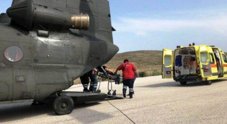 Βόλος: Αεροδιακομηδή για 10χρονο που υπέστη ηλεκτροπληξία στην Αλόννησο