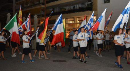 Φαντασμαγορική τελετή έναρξης του Πανευρωπαϊκού πρωταθλήματος μπάσκετ στον Βόλο [εικόνες]