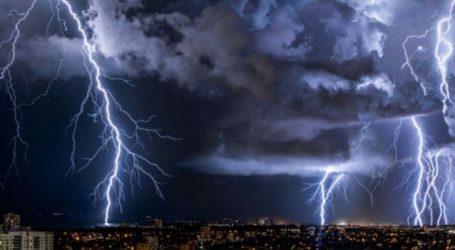 Καιρός: Ο Αντίνοος έρχεται με άγριες διαθέσεις – Καταιγίδες και χαλάζι έως την Τετάρτη