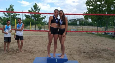 Ασημένια αθλήτρια της Νίκης Βόλου στο Regional Junior Beach Volley της ΕΣΠΕΚΕΛ