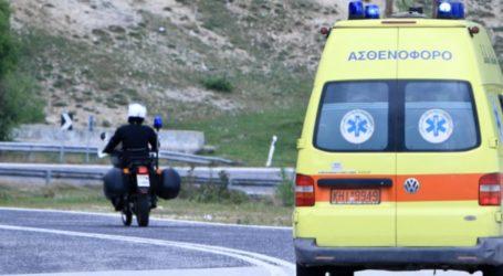 ΤΩΡΑ: Τροχαίο ατύχημα στην Πορταριά – Στο Νοσοκομείο ο οδηγός