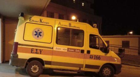 Τροχαίο με σύγκρουση μηχανής και αυτοκινήτου στη Λάρισα – Με τραύμα στο κεφάλι ο δικυκλιστής στο Νοσοκομείο
