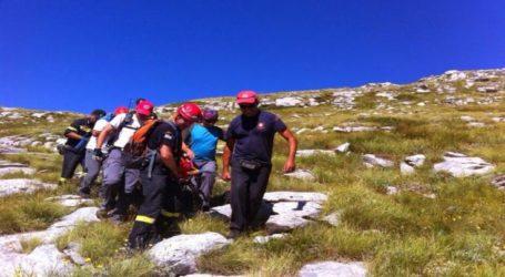 Νεκρός ο ορειβάτης που έπεσε σε δύσβατο σημείο του Ολύμπου – Στην επιχείρηση συμμετείχε και η 8η ΕΜΑΚ