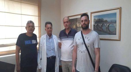 Παράσταση διαμαρτυρίας του ΣΥΡΙΖΑ Λάρισας στη διοίκηση του Γενικού Νοσοκομείου