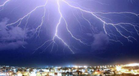 Βροχές και καταιγίδες από το απόγευμα στον Βόλο