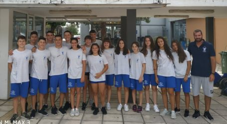 Στο Πανελλήνιο Πρωτάθλημα παίδων – κορασίδων στη Θεσσαλονίκη η κολύμβηση της Νίκης Βόλου