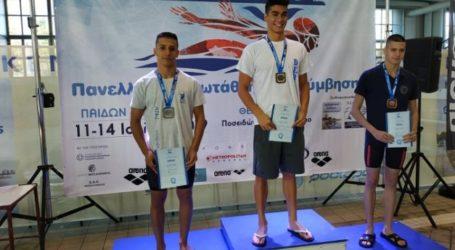 Μετάλλιο κι ατομικά ρεκόρ στην πρώτη ημέρα του πανελληνίου πρωταθλήματος παίδων – κορασίδων για τη Νίκη Βόλου