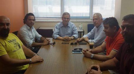 Συνάντηση του Φιλιππου Σαχινίδη με το προεδρείο του Οικονομικού Επιμελητηρίου