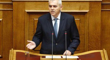 Χαρακόπουλος στη Βουλή: Αλλαγή σελίδας με συνέπεια λόγων και έργων!