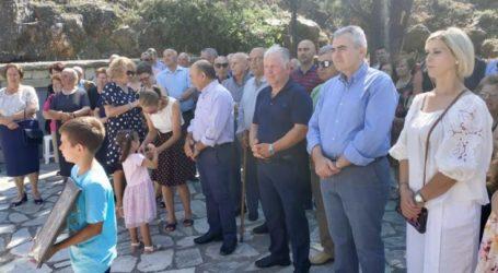 """Χαρακόπουλος στο Λουτρό Ελασσόνας: «Η κυβέρνηση θα """"κουρέψει"""" την υπέρογκη φορολογία»"""