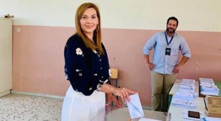 Ψήφισε η Στέλλα Μπίζιου: «Οι Έλληνες υπεύθυνα και συνειδητά παίρνουν την Ελλάδα στα χέρια τους»