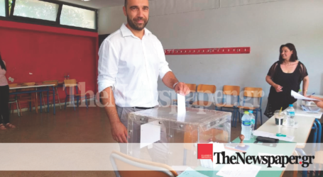 Ψήφισε ο Παναγιώτης Ηλιόπουλος