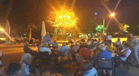 Ολοκληρώνουν την προεκλογική τους εκστρατεία οι υποψήφιοι βουλευτές του ΣΥΡΙΖΑ Λάρισας