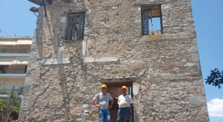 Ξεκίνησαν οι εργασίες αποκατάστασης του Πύργου Καραμίχου στα Φάρσαλα (φωτο)