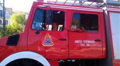 ΤΩΡΑ: Φωτιά σε σπίτι στο Πήλιο