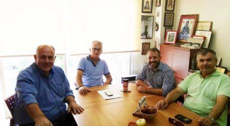 Ο Αλέξανδρος Μεϊκόπουλος στον Δήμαρχο Ρ. Φεραίου για το ζήτημα των αγριόχοιρων