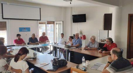 Έκανε την αποτίμηση των πρόσφατων εκλογικών αναμετρήσεων η Νομαρχιακή του ΣΥΡΙΖΑ Λάρισας