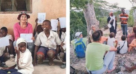 Η δασκάλα από τη Λάρισα που υιοθέτησε ένα χωριό στην Τανζανία (φωτο)