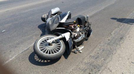 Βόλος: Τροχαίο ατύχημα στην οδό Λαρίσης