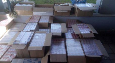 Λάρισα: Χειροπέδες σε 57χρονο για χιλιάδες λαθραία πακέτα τσιγάρων (φωτό)