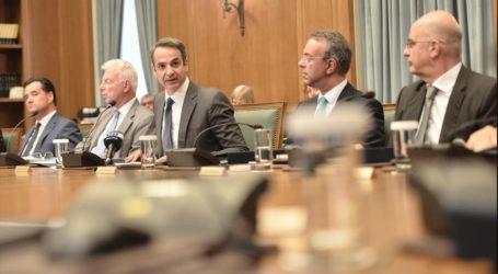 Κυριάκος σε υπουργούς: Οι στόχοι ψηλά και το κεφάλι χαμηλά