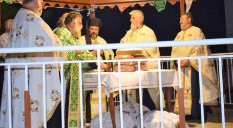Γιορτάστηκε η «Μεταμόρφωση του Σωτήρος Χριστού» στην Κυπάρισσο (φωτό)