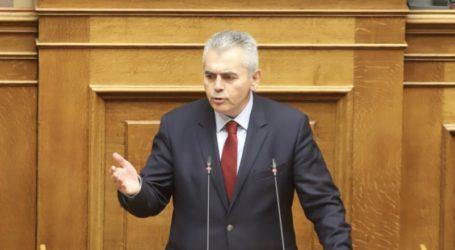 Χαρακόπουλος για απάντηση Βορίδη: «Οι αγρότες των Φαρσάλων αγωνιούν για αποζημιώσεις»