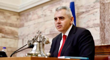 Χαρακόπουλος: «Να αποκτήσουμε ένα κράτος αξιόπιστο και διαφανές…»